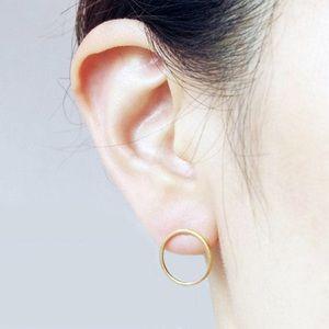 Jewelry - Open Circle Minimalist Studs 2 for 15